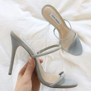 steve madden // mina minimalist strappy mule heel